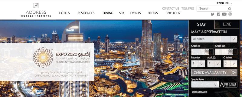 Address Hotel Dubai Booking Offers