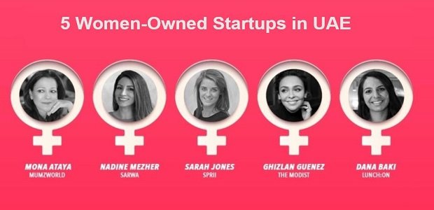 5 Women-Owned Startups in UAE